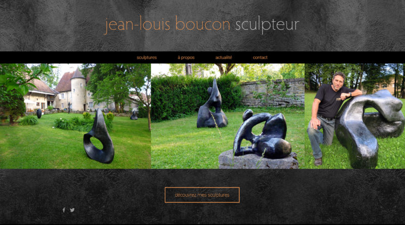 Site internet Sculpteur Jean-Louis Boucon