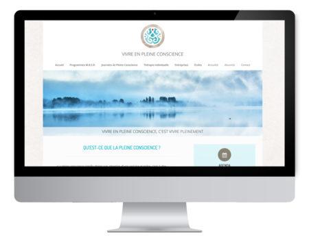 création site web pleine conscience, Besançon