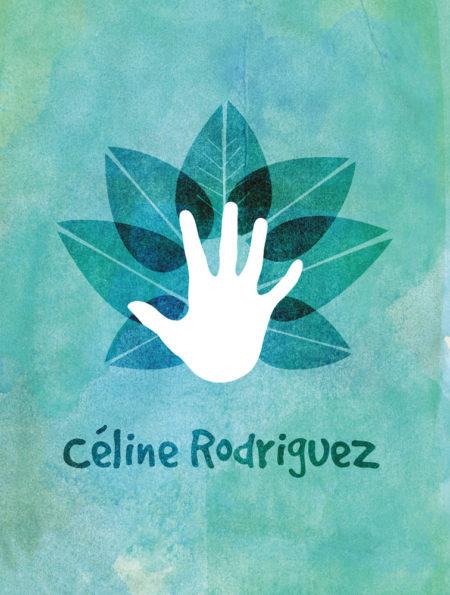 Création logo, professeur de yoga, Besançon.