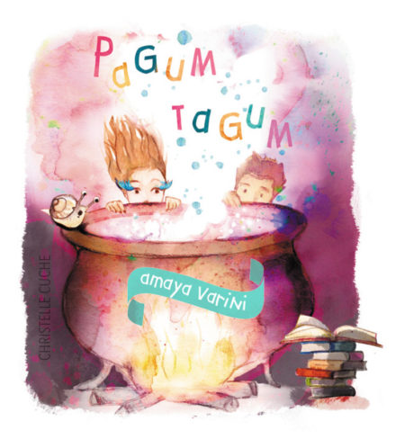 Illustration, dessin pour CD musical pour enfants, Pagum Tagum