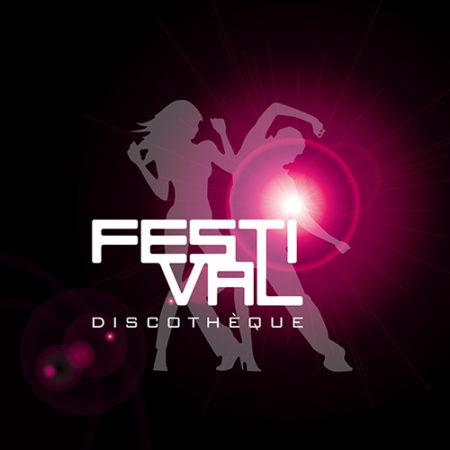 Création logo discothèque festival