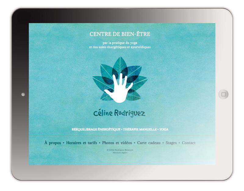 Création site internet yoga, Besançon