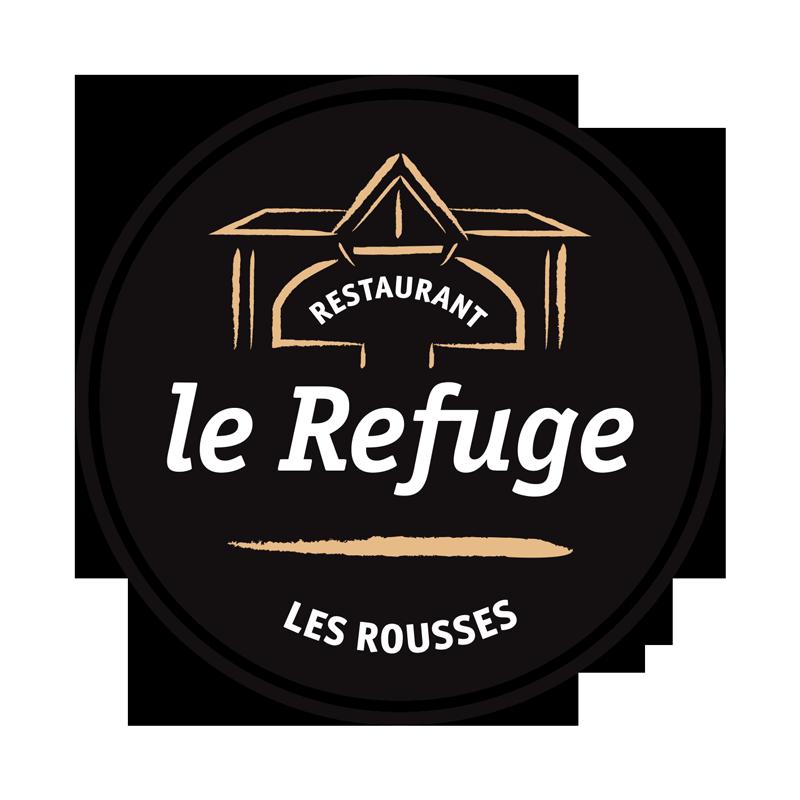 Création logo restaurant le refuge - Les Rousses