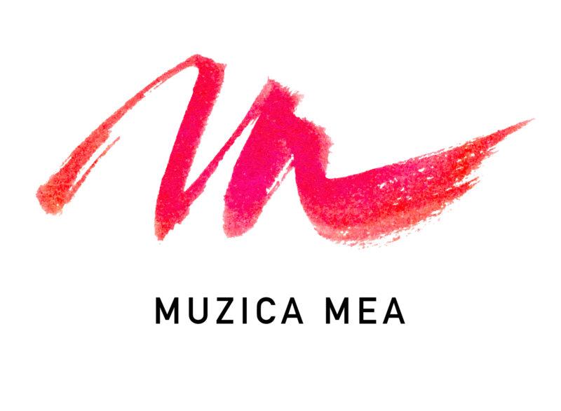 création logo école de musique. Muzica Mea.