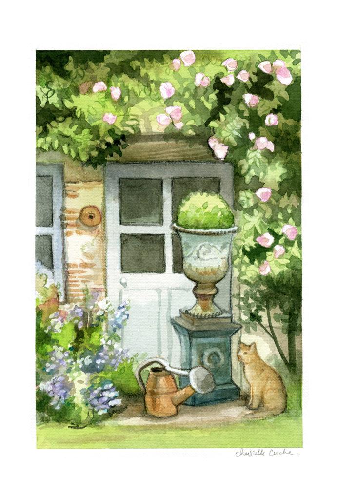 Illustration Jardin-christelle-cuche