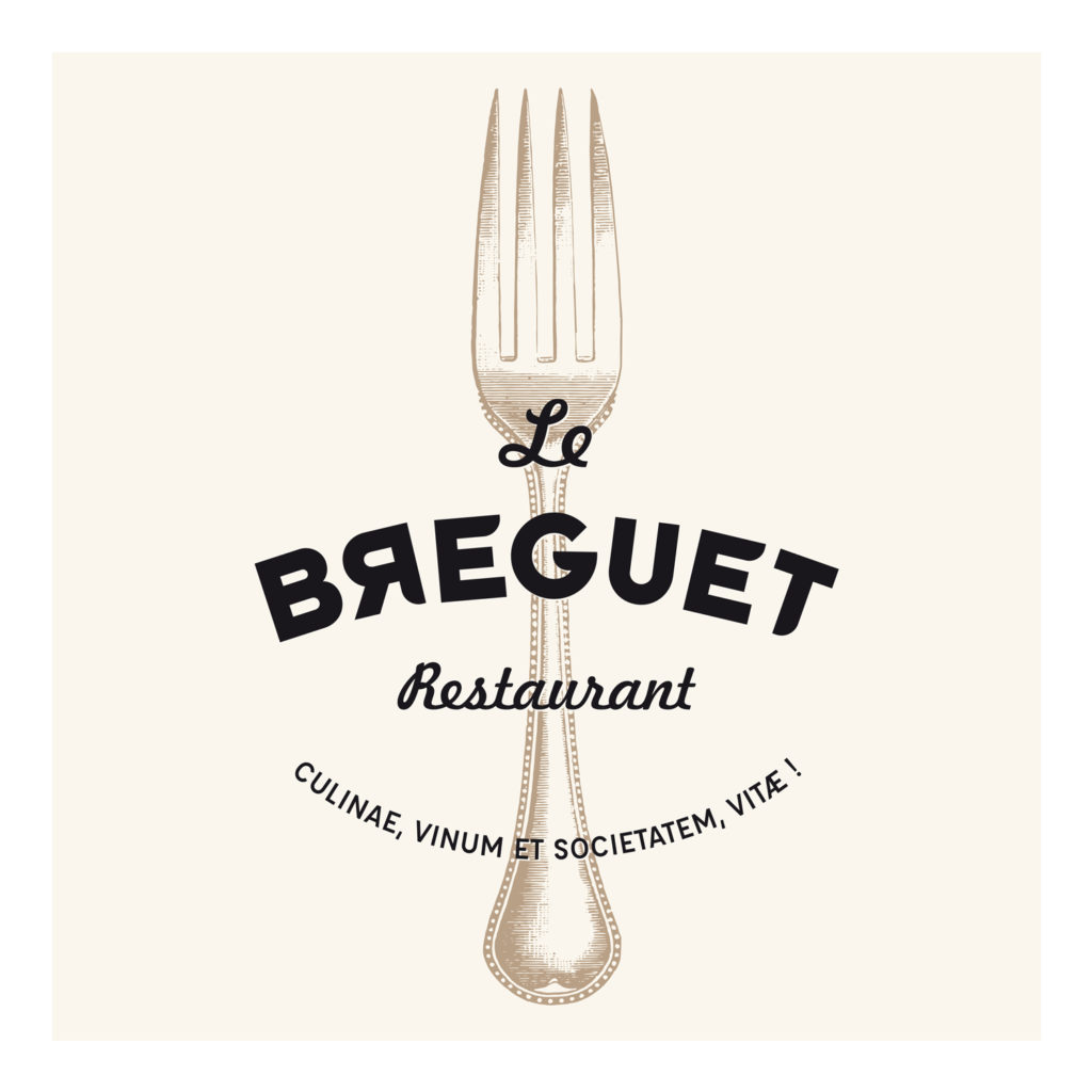 Création logo restaurant le Breguet